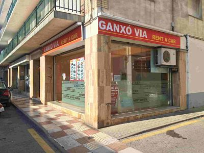 oficina ganxovia rent a car