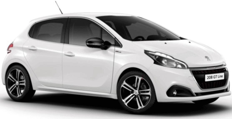 <h4>Peugeot 208, Opel Corsa o VW Polo</h4>